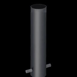 Typ LK-100, Kunststoff-Bodenhalterung, Hülse zum Einbetonieren