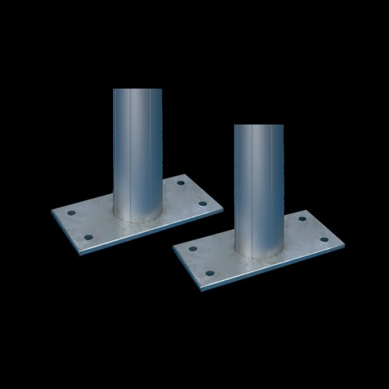 Fußplatten für Werbepylon -Epsilon-