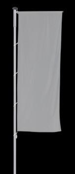 Fahnenmast Pilot-A, Höhe 8 Meter, mit Ausleger