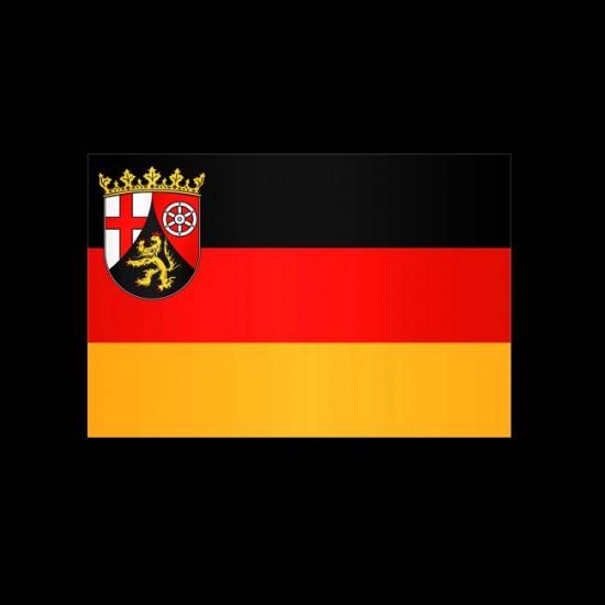 Flagge Hochformat-Rheinland-Pfalz-600 x 150 cm-110 g/m²-ohne Hohlsaum