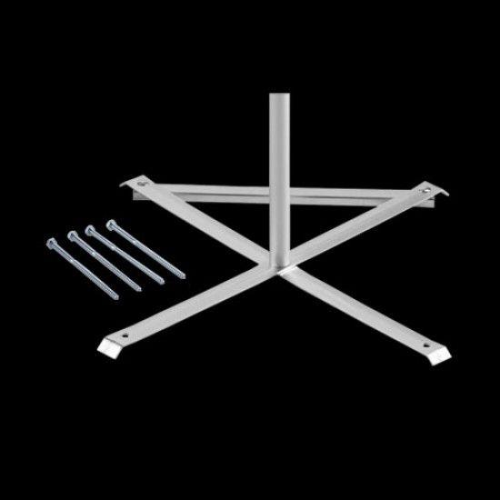 Aufbau-Kreuz für Fahnenmast Leisure und Show