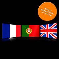 Flaggen Europa, Hochformat