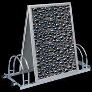 Werbefahrradständer Modell -WF 100 Aqua-