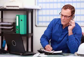 Fachberater am Telefon