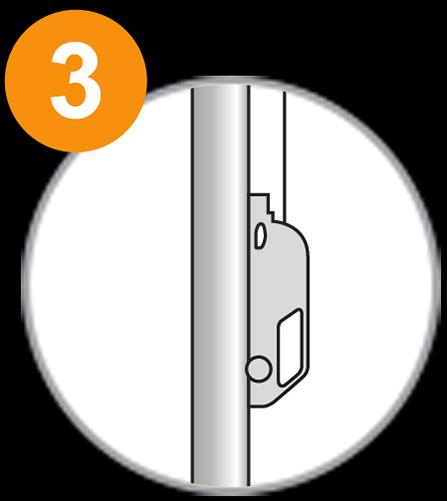 Fahnenmast 1x1 - Schritt 3.