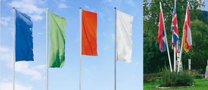 Abbildung Flaggenmast