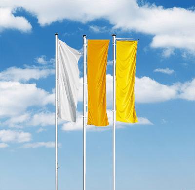 fahne befestigen am mast
